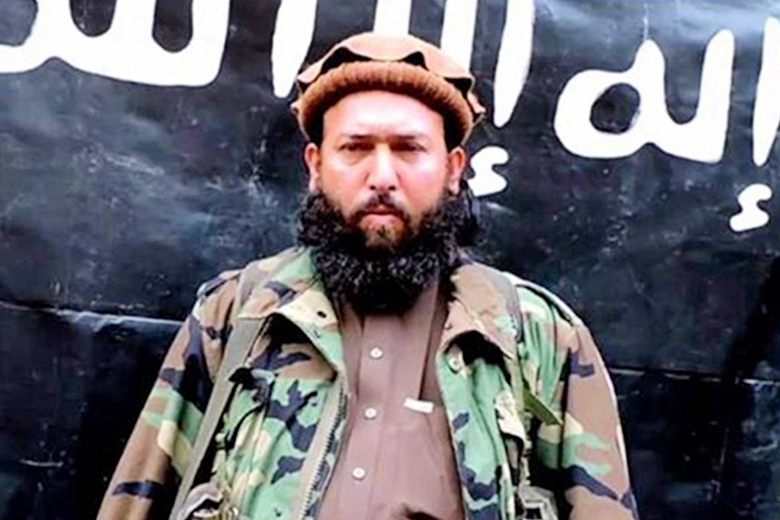 Afghanistan National Directorate // Hafiz Saeed Khan, a top ISIS commander in Afghanistan, was killed by U.S. air strikes in the Nangarhar province, Afghan officials said Saturday.