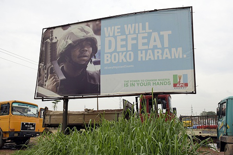 Getty Images // Fighting Boko Haram has fast become a top priority as the lawlessness in northeastern Nigeria continues.